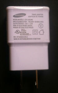 Samsung 2.0 Amp 5 Volt Wall Charger USB Adapter OEM for Galaxy Note 2 3 S5 S4