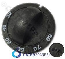 Parry Negro Perilla de control 30-80oc bain Marie Pastel Gabinete Termostato Perilla Tipo B