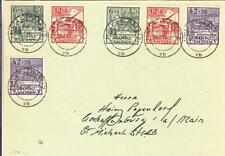 1946, Halle, Sachsen, Germany,Mi #87-89, Perf & Imperf, (Philatelic) (34939)