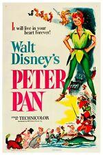 "WALT DISNEY'S PETER PAN POSTER 12"" X 18"""
