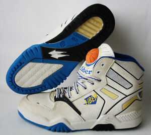 RARE VINTAGE 80'S LIBER BASKETBALL SHOES AIR SYSTEM US 6.5 EUR 39 ITALY NEW NOS!