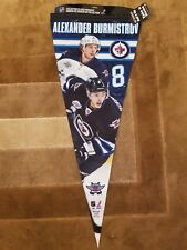 NHL Winnipeg Jets Alexander Burmistrov 12-by-30 Inch Premium Quality Pennant