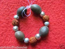 PARA MERCURY GOLI PUREST PARAD With Rudraksha Kamal Gatta Beads Bracelet