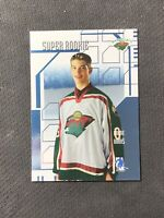 2003-04 ITG BE A PLAYER BAP MEMORABILIA BRENT BURNS SUPER ROOKIE BLUE #SR-3