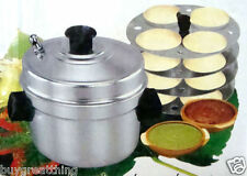 Aluminium Idli Maker / Idly Cooker - w 4 Plate Idly stand INDIAN SELLER