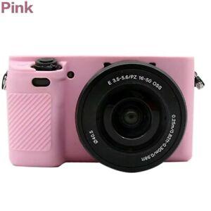 Soft Silicone Camera Case For Sony A6300 CE-6300 A6400 ILCE-6400 A6100 ILCE-6100