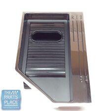 1965-67 Nova 4-Speed Console Shift Bezel Assembly Includes Bezel & Slider - Set