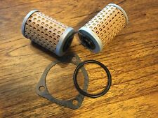 VINTAGE BMW  HINGED OIL FILTER FOR ALL MODELS WITH OIL COOLER W/GASKET+O-RI
