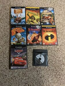 8 Gamecube Movie Tie in Games Lot