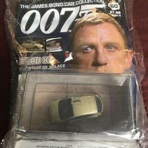 JAMES BOND CARS COLLECTION 060 FORD KA QUANTUM OF SOLACE