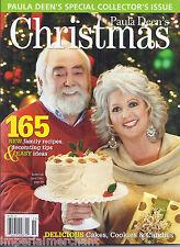 Paula Deen Christmas magazine special Family recipes Decorating tips ideas