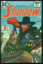 THE SHADOW # 1 - 1973 DC pulp fiction comic book + FREE SHADOW COLLECTABLE