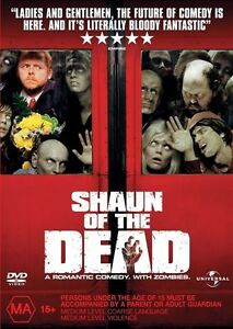 Shaun Of The Dead (DVD, 2005) Region 4 Australia