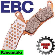 KAWASAKI ZX-6R ZX 600 G1/G2/J1/J2 98-01 EBC FRONT BRAKE PAD PADS FA188HH x2