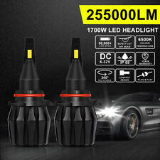 9005 HB3 LED Headlight Globe Bulbs Kit High Beam Replace HID Xenon 255000LM/Set
