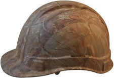 Pyramex CAMO Ridgeline Cap Style Hard Hat 6 Point Ratchet Suspension Fast Ship!
