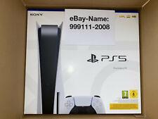 Sony PLAYSTATION 5 (ps5) Disc Edition con unità [Nuovo/Scatola Originale/Con fattura]