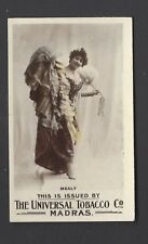 UNIVERSAL TOBACCO - ACTRESSES (PLAIN BACK) - MEALY