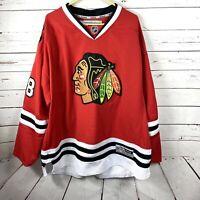 Reebok Chicago Blackhawks 3XL Patrick Kane Red Premier NHL Jersey Plus size