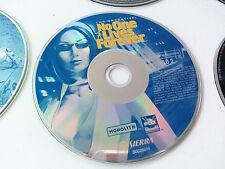 cd n°2 du jeu No one lives forever NOLF 1 PC FR