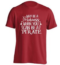 Why be princess, t-shirt pirate feminist hipster funny treasure map ship 4643