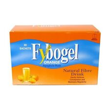 FYBOGEL ORANGE ISPAGHULA HUSK NATURAL FIBRE DRINK - 30 SACHETS