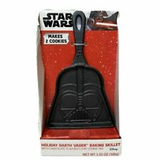 Star Wars Darth Vader Cast Iron Cookie Skillet w/ Chocolate Cookie Mix (Makes 2)