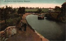 Wakefield. The Canal at Heath Common by W.C.Machan, Wakefield.
