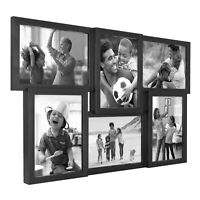 6-Opening 5x7 Inch Collage Frame, Black