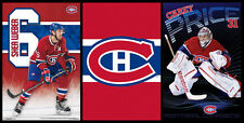 MONTREAL CANADIENS 3-POSTER COMBO - Carey Price, Shea Weber, Logo POSTERS