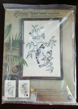 New Paragon Needlecraft Tufted Titmice Etching Birds Embroidery Kit 0447 stitch