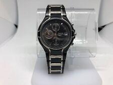 PULSAR Men's Pf3547 Black Silver Chronograph 50m Date Watch (read)