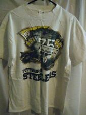 Pittsburgh Steelers t-shirt mens L Front pages shirt