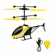 Mini Helicopter Induction Aircraft Remote Control RC Drone LED Toys Gifts