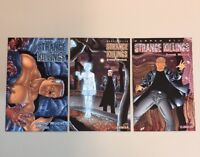 Strange Killings 1-3 Complete Set 1 2 3 Strong Medicine Warren Ellis (SK01)