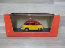 Giocher 1/43 - Fiat 600 Multipla - 2 tone red/yellow