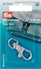 Karabinerhaken mit Öse Haken Prym 417900 silber 7 x 38 mm Karabiner