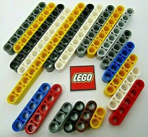 LEGO Technic Beams - Choose Length & Colour (Packs of 4) Design 32316 32524 etc.