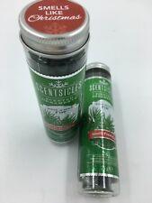 2 X Blanc Hiver Sapin Scentsicles Parfumé Ornement Artificiel Sapin de Noël
