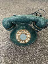 Cream MyBelle Chic 373 Retro/Vintage Style Push Button Telephone Phone Green