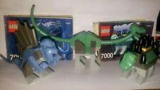 3) 2001 Lego Young Dino 7000, 7002,7003 Ankylosaurus,Brachiosauru s,Dimetrodon
