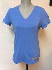 Michael Kors Crew Blue Ladies Tee Shirt Size Small