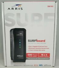 Arris Surfboard Sb6183 Docsis 3.0 Cable Modem, for Cox, Spectrum, others - O/B