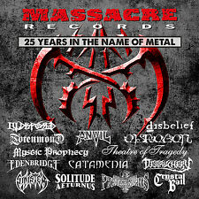 MASSACRE RECORDS - 25 Years In The Name Of Metal - 3-D-Cover - 2CD - 200941