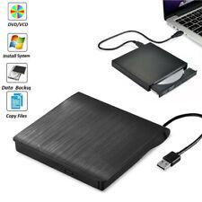 Slim External USB 2.0 CD DVD RW Writer Drive Burner Reader Player For Laptop PC