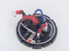 Heroclix Clobberin' Time set Nightcrawler #095 Unique / Super Rare figure!