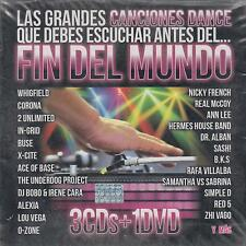 CD - Las Grandes Canciones Dance NEW Fin Del Mundo 3 CD's & 1 DVD FAST SHIPPING!