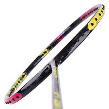 Yonex DUORA 10 LT Badminton Racket Pink Yellow Racquet String Shuttlecock 4UG5