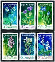 DDR #Mi1563-Mi1568 MNH CV€3.20 1970 Native Plants [1194-1199]