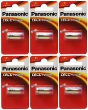 6 X Panasonic Lr1 Batería 1.5 v (tipo N / mn9100) (6 Pilas) - Nuevo